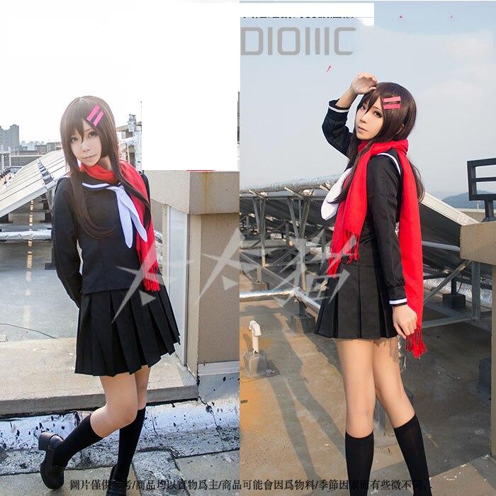 Jpanese Anime Kagerou projet Tateyama Ayano Cosplay Costume marin costumes uniforme pour les femmes