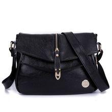 Free Shipping 2017 Genuine Leather Women's Handbags Fashion Womens Messenger Bag Shoulder Bag Ladies Crossbody Bags High Quality