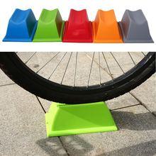Велосипед Велоспорт переднее колесо турбо тренер Riser Поддержка блок