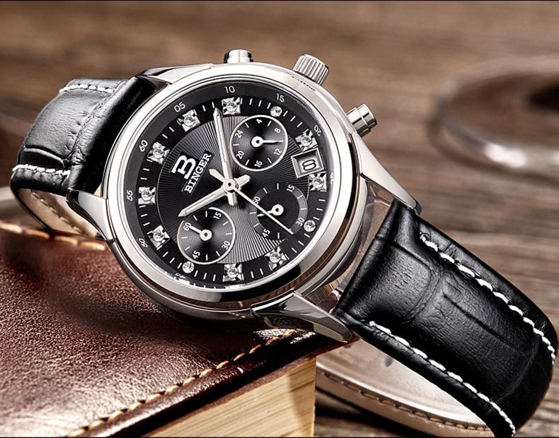 Cristais de Design Casais Relógios de negócios