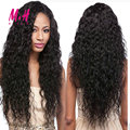 Peruvian Virgin Hair Natural Water Wave Iwish Hair Ali Moda Peruvian Water Wave 4 Bundles Human Hair Weave Curly Weave Extension