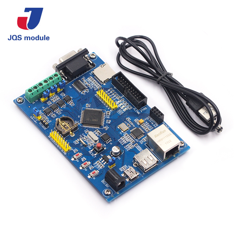 Industrial Control board STM32F407VET6 Development Board RS485 Dual CAN Ethernet Networking STM32 w5500 development board the ethernet module ethernet development board