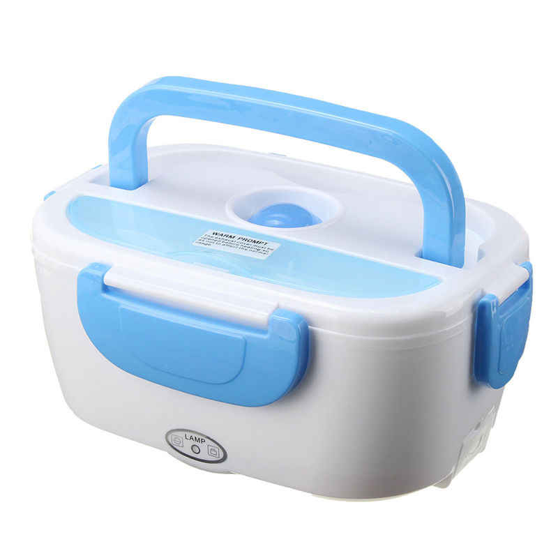 Portable Electric 12V Heated Lunch Box Bento Boxes Auto Car Food Rice Container Warmer For School Office Home Dinnerware