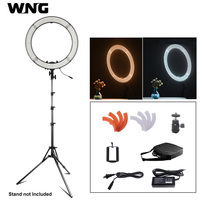 18 inch 55W RL 18 LED Ring Light Makeup Lamp Dimmable Ring Lighting for Make up artist Videographer YouTube Photo Shooting