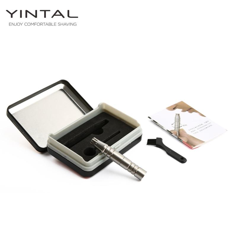 Ny bärbar näshår trimmer manuell rostfritt stål näshår - Rakning och hårborttagning - Foto 3