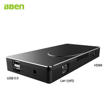 Bben mini pc tv stick компьютера rj45 4 К с intel apollo платформы celeron n3450, RAM 4 ГБ/32 ГБ EMMC, SSD 64 ГБ (опция) windows10