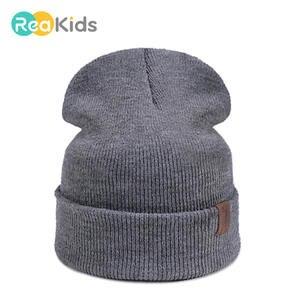 518c19f5f96 REAKIDS Hats For Children Beanies Hat Baby Boys Girls Cap