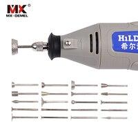 HILDA Diamond Burrs Tungsten Burrs Rotary Tool Dremel Accessories Drill Bit Grinding Head Dremel Accessories Bits