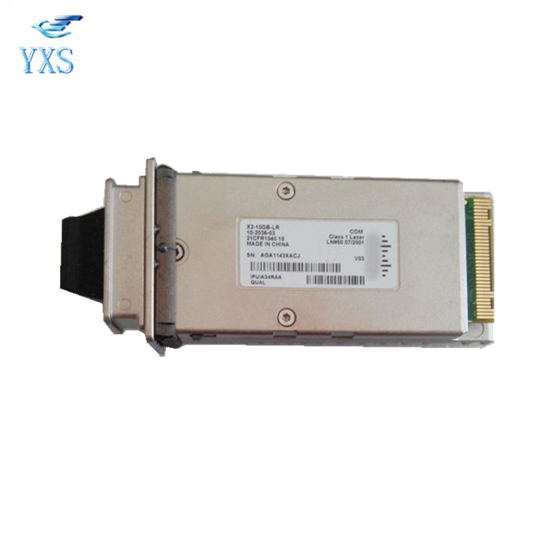 Gigabit Single Mode 1310nm X2 Optical Modules 10KM Compatible with Switches X2-10GB-LR new new gigabit single mode optical module sfp 10g lr s 1310nm 10km fiber module
