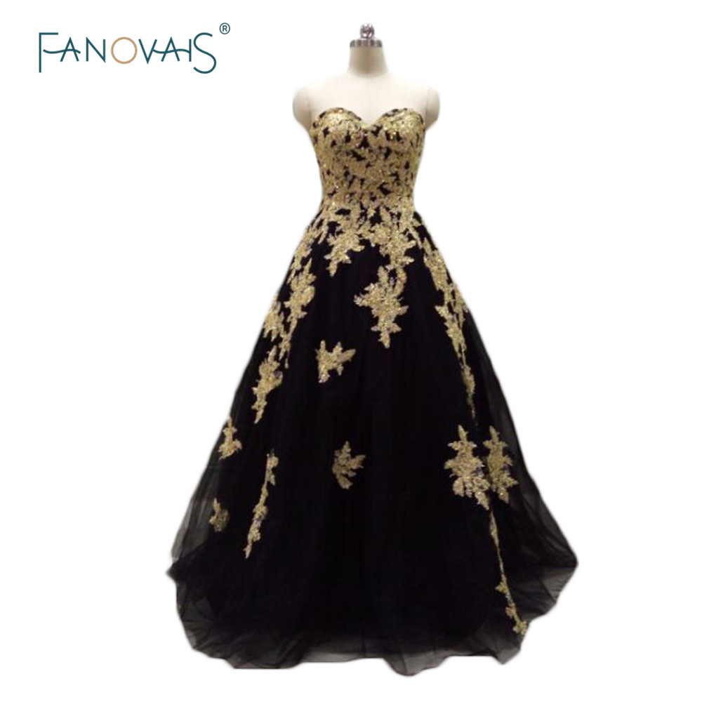 Black dress gold lace - Aliexpress Com Buy Black Gold Lace Formal Evening Gowns Luxury Off Shoulder Women Long Prom Dresses Real Sample Crystal Floor Length Dubai Asae63 From