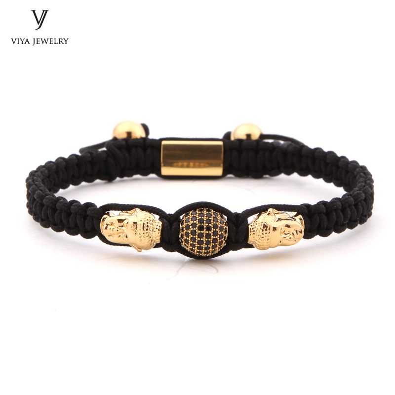 2017 Customize Luxury Couple Buddha Braided Macrame Bracelet High-end Handmade Beads Bracelet Colorful Rope Available Bracelets 2016 new waterproof black beads macrame bracelets for men women high end cz beads braided bracelet for watch boho men jewelry