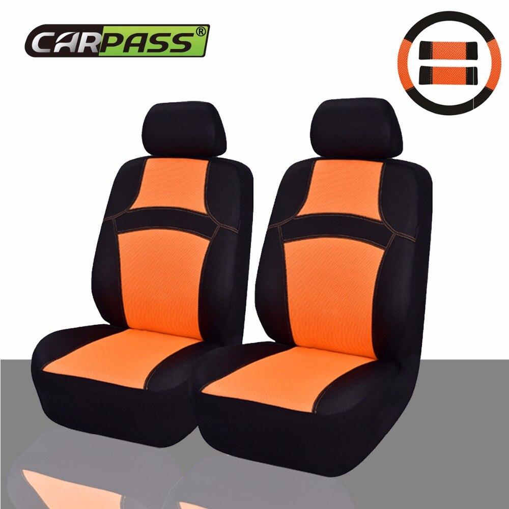 Car-pass Nuevo diseño Sandwich Fundas de asiento de coche - Accesorios de interior de coche - foto 2