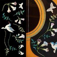 Inlay Sticker Decals for Guitar Bass Assorted Hummingbird Set