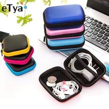 ETya, модный кошелек для монет, портативный мини-кошелек, для путешествий, электронный, SD карта, USB кабель, для наушников, для телефона, зарядное устройство, чехол для хранения, Подарочный мешочек