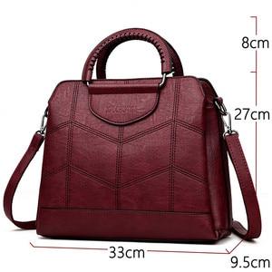 Image 2 - Alta capacidade bolsa Para As Mulheres Bolsas De Marca de Luxo mulheres do Desenhador saco por cima do ombro Sacos Crossbody Sac a Principal Das Senhoras tote nova