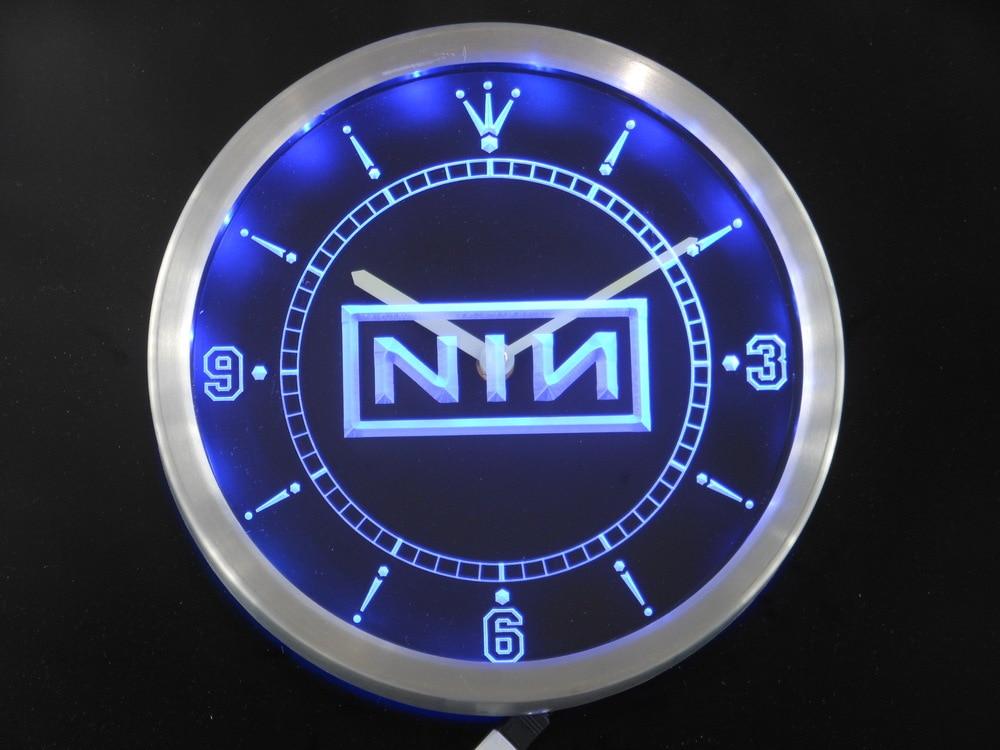 nc0140 NIN Nine Inch Nail Rock n Roll Bar Beer Neon Sign LED Wall ...