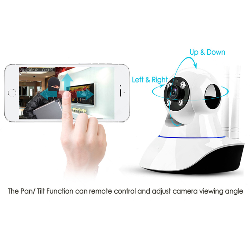 WIFI IP Surveillance Camera HD 720P Wireless Mini CCTV Camera Baby Monitor Security P/T P2P Micro TF Card Free IOS Android APP new p2p 720p ip camera wifi wireless mini cctv camera baby monitor security p t micro tf card surveillance camera ios