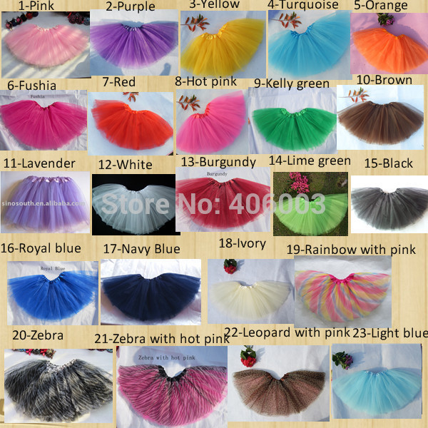 Wholesale Baby Infant Tutu Skirt Kids Toddler Tulle Skirts Free Shipping