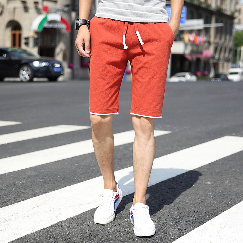 Movement Shorts Mens 2018 Summer Pull Rope Men Shorts Size 4XL Youth Fashion Casual Male Cool Choice Multi Color Choice