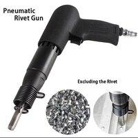 Pneumatic Rivet Gun Industrial Grade Speed Adjusted Semi Hollow/Solid Rivet Gun Air Pneumatic Tool Nameplate Riveting ToolGY 503