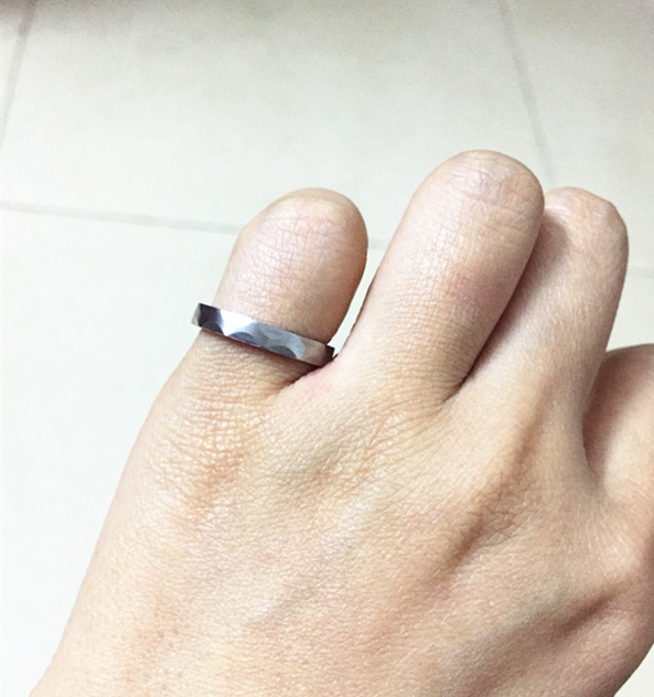 3mm New Collection Engineer Ring For Birthday Giftcustom Size