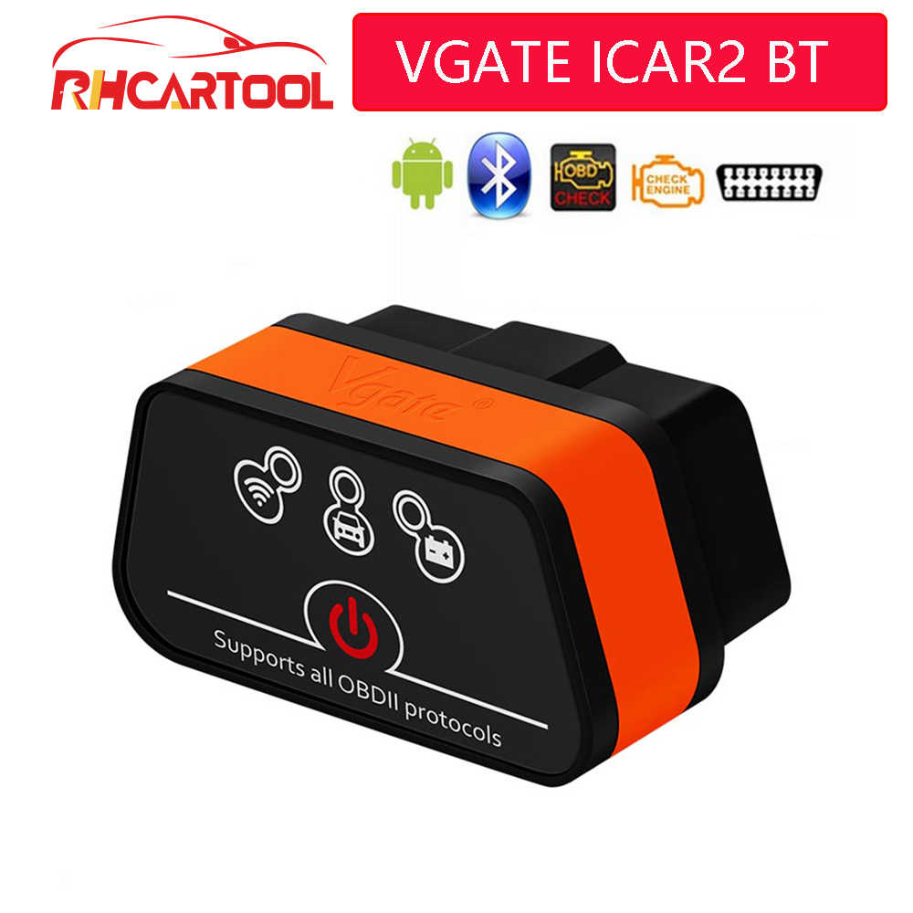 Vgate iCar2 ELM327 Bluetooth OBD2 Scanner iCar 2 wifi adapter for android//PC//IOS