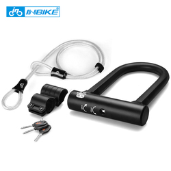 Inbike bike u lock steel mtb road bike bicycle lock anti theft heavy duty bike u.jpg 250x250
