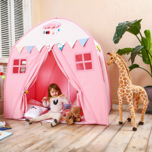 Love Tree Kids Princess Castle Play Tents Secret Garden Play Tent Portable for Indoor and Outdoor & Love Tree Kids Princess Castle Play Tents Secret Garden Play Tent ...