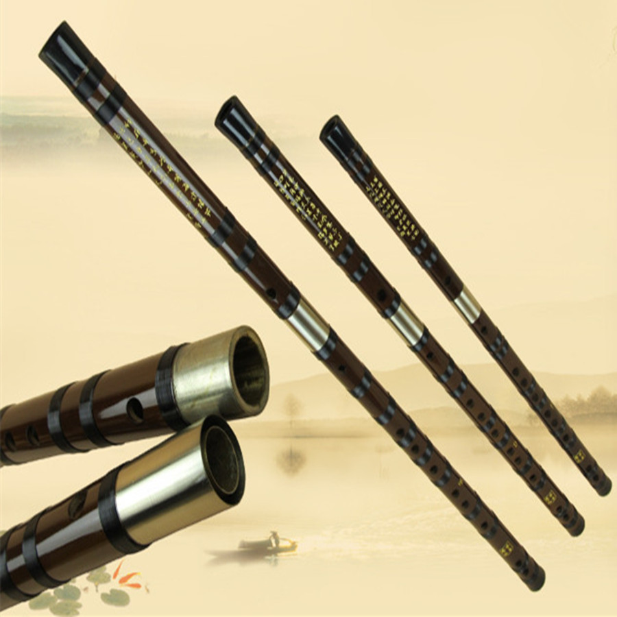 Bamboo flauta Dizi glazbeni instrumenti flauta transverzalna C D E F - Glazbeni instrumenti - Foto 2