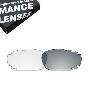 6bf2103e29 ToughAsNails lentes de repuesto para Oakley Jawbone Vented gafas de sol  fotocrómicas claro (lente única)