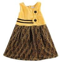 Girl Princess Dress Children Lace Cute Clothes Baby Girl Dress Nova Brand Cotton Dress Kids Floral