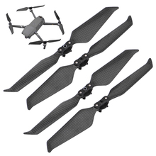 4 Pcs MAVIC 2 נמוך רעש מדחף סיבי פחמן להב לdji Mavic 2 פרו זום Drone מהיר שחרור 8743 אבזרי אגף חלקי חילוף
