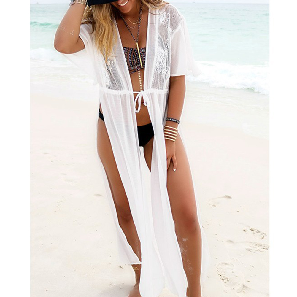 2019 Beach Cover Up Floral Bikini Cover Up Swimwear Women Robe De Plage Beach Cardigan Bathing Suit Cover Ups Relieving Rheumatism And Cold Blouses & Shirts