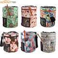 KOKNIT 14 Stile Stricken Tasche Garn Organizer Tasche Für Wolle Häkeln Haken Stricken Nadeln Nähen Set DIY Garn Bälle Lagerung tasche