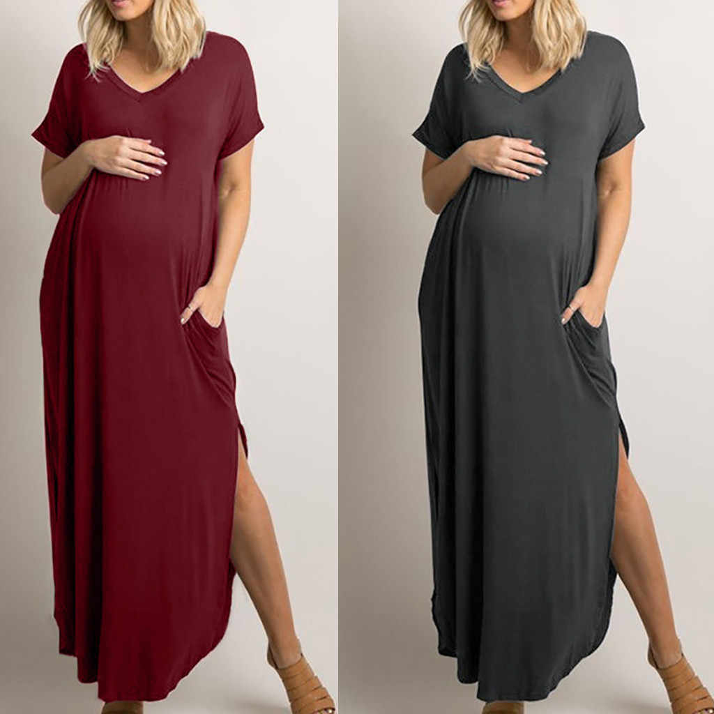 39d53692bc Detail Feedback Questions about Maternity Dresses Women Maternity ...