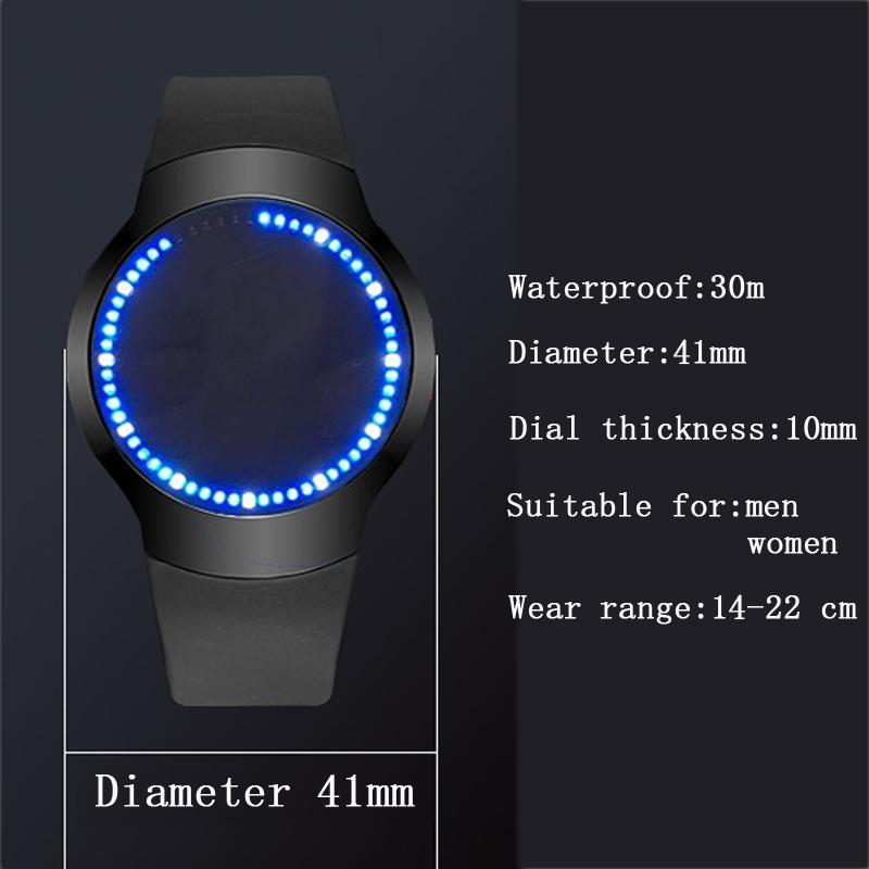 HTB1rGEzRpXXXXb7XpXXq6xXFXXXD - Creative Minimalist Touch Screen Waterproof Watch