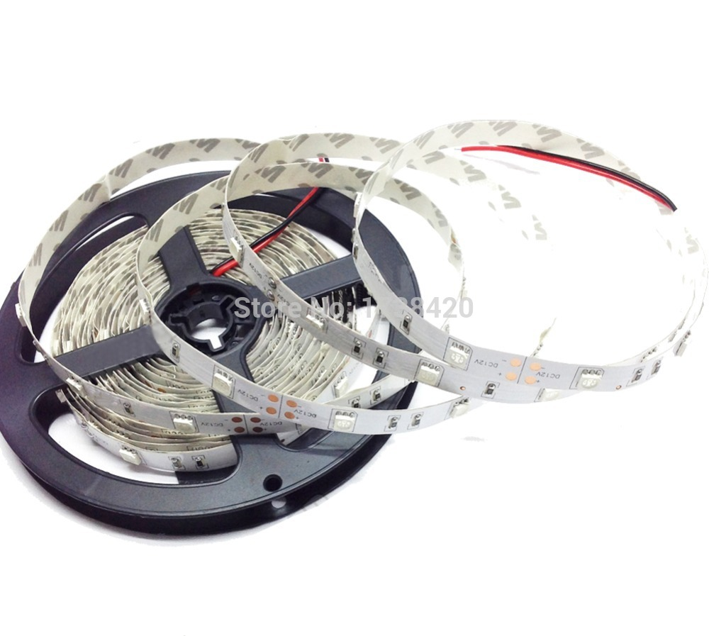 Tira LED SMD 5050 los 30 leds/m 20 m/lote RGB LED cinta de DC12V IP22 casa Decoración led cinta Tira de LED SMD 2835 60led ip22 12v murió
