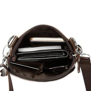 Image 4 - Omuz çantası erkekler omuz hakiki deri çanta Flap küçük erkek erkek Crossbody çanta erkekler için doğal deri çanta
