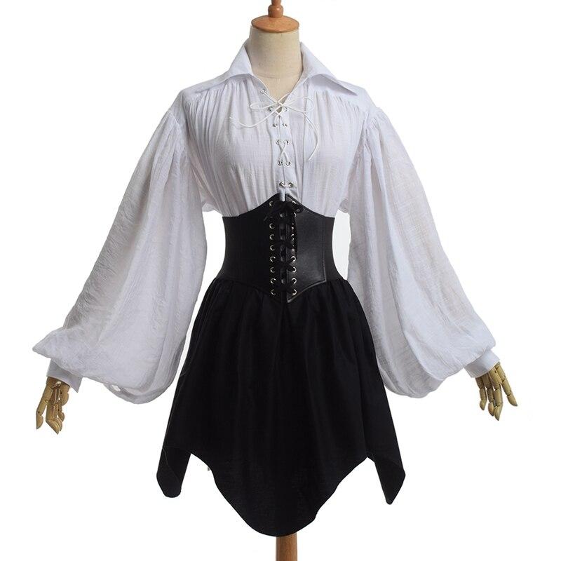 Burlesque Gothic Black   Corset   Skirt Punk Faux Leather Waist Cincher   Bustier   Mini Dress Carnival Costume