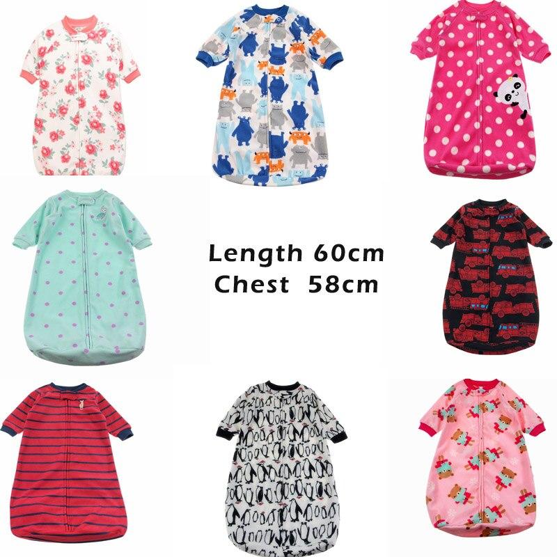 Baby-Sleeping-Bag-Cute-Sleep-Sack-For-Newborn-Polar-Fleece-Infant-Clothes-style-sleeping-bags-Sleeve-Romper-for-0-9M-gigoteuse-X-1
