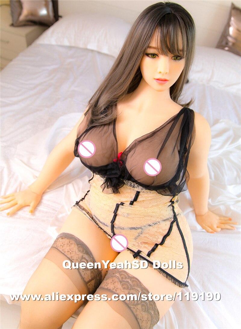Nuevas muñecas sexuales reales de silicona de 166 cm con grasa y enorme trasero realista adulto amor muñeca Mastrubator Big Breast juguete Sexy para hombres