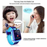 Q12 enfants montre intelligente avec caméra localisateur enfant Smartwatch SOS Anti-perte moniteur Tracker bébé montre-bracelet PK Q528 Q90