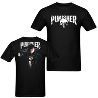 Punisher 2017 Supper Hero Series Skull Men Women 3D Print T Shirt Harajuku TV Style Vintage