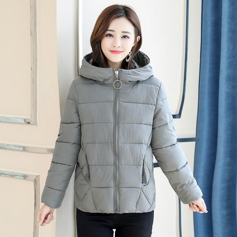 New 2019 Plus Size 6XL Woman Coat Warm Hooded Winter Jacket Women Causal Full Sleeve Zipper Parkas Female Cotton Padded Jackets