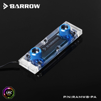 Barrow RAMWBT PA, RAM Water Cooling Block Kits, LRC 1.0 12v, One Kit Two Armor One Block, One Block Maximum Support 4 RAM