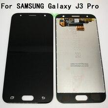 100% новый экран прошел тестирование для Samsung Galaxy J3 Pro 2017 J330 J330F ЖК-дисплей Дисплей Сенсорный экран планшета Полный ЖК-дисплей Экран + Инструменты
