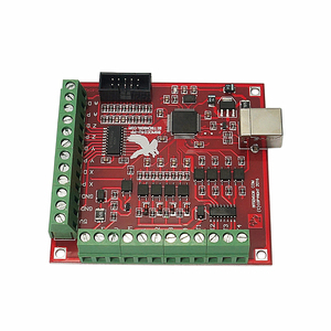 Image 4 - MACH3 4 Axis 100KHz USB CNC Wood Router Machine Smooth Stepper Motion Controller card breakout board 12 24V