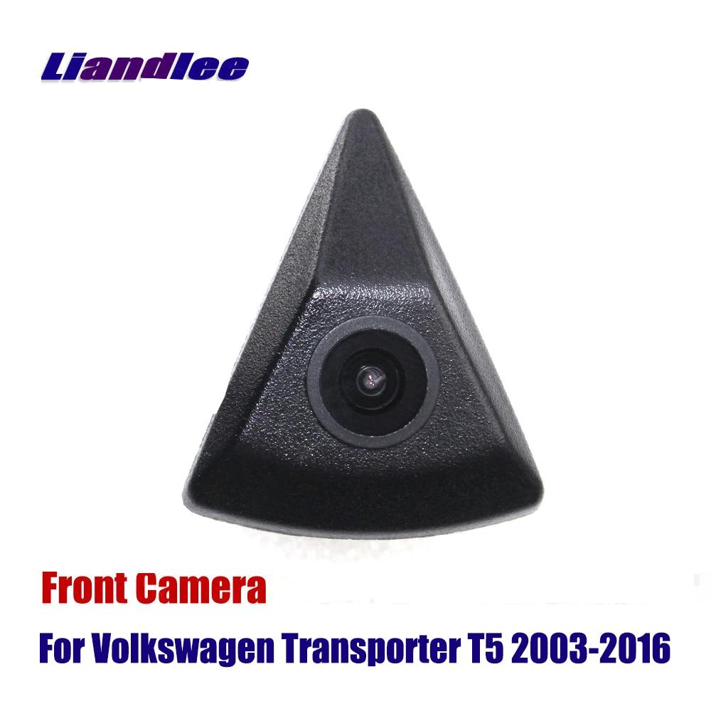 Liandlee CAM AUTO Vista Frontale Della Fotocamera Per Volkswagen VW Transporter T5 2003-2016 Logo Incorporato (non Retromarcia Telecamera Posteriore di Parcheggio)