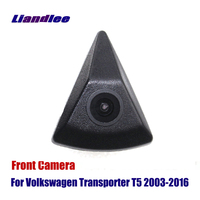 Liandlee AUTO CAM Front View Camera For Volkswagen VW Transporter T5 2003 2016 Logo Embedded ( Not Reverse Rear Parking Camera )