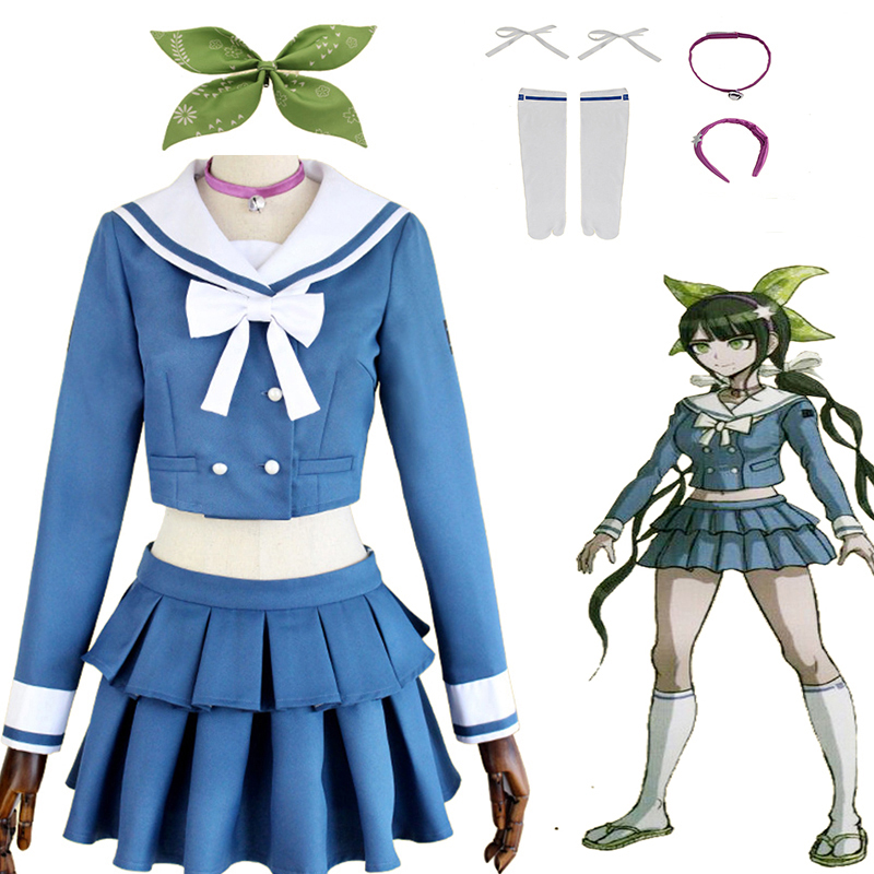 New Danganronpa V3 Chabashira Tenko Cosplay costume Custom Made    1